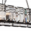 "Picture of 43"" 12 Light  Chandelier with Black finish"