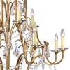 """Picture of 43"""" 12 Light Up Chandelier with Oxidized Bronze finish"""