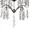"Picture of 44"" 16 Light Down Chandelier with Silver Mist finish"