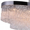 "Picture of 45"" 10 Light Island Chandelier with Chrome finish"