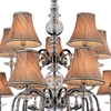 """Picture of 45"""" 15 Light Up Chandelier with Chrome finish"""