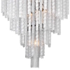 """Picture of 46"""" 14 Light Down Chandelier with Chrome finish"""