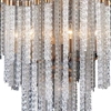 "Picture of 46"" 14 Light Down Chandelier with Gold finish"