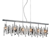 """Picture of 46"""" 6 Light Down Chandelier with Chrome finish"""
