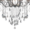 "Picture of 46"" 9 Light Up Chandelier with Chrome finish"