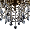 "Picture of 47"" 16 Light Up Chandelier with Antique Brass finish"