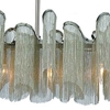 """Picture of 47"""" 7 Light Down Chandelier with Chrome finish"""