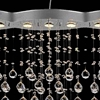 "Picture of 47"" 9 Light Down Chandelier with Chrome finish"