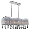 "Picture of 48"" 14 Light Drum Shade Chandelier with Chrome finish"
