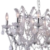 """Picture of 49"""" 21 Light Candle Chandelier with Chrome finish"""