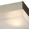 """Picture of 5"""" 1 Light  Flush Mount with Satin Nickel finish"""