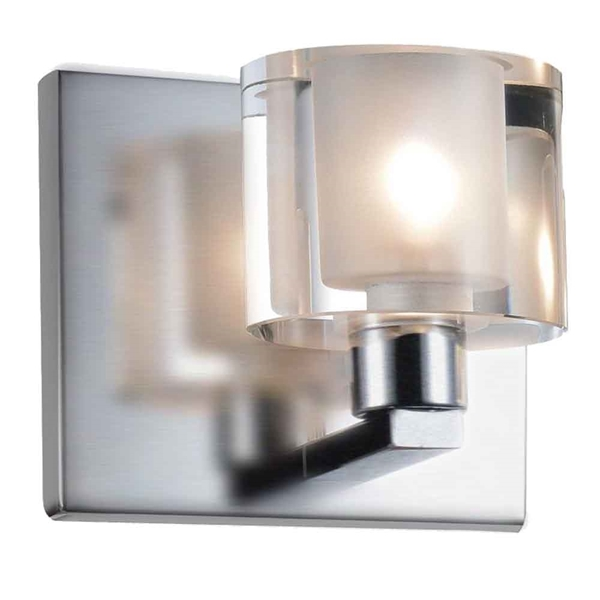 "Picture of 5"" 1 Light Vanity Light with Satin Nickel finish"