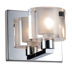 """5"""" 1 Light Wall Sconce with Chrome finish"""