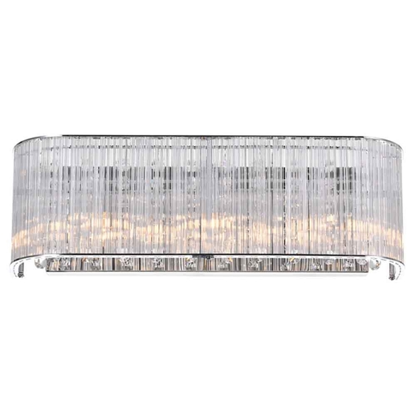 """Picture of 5"""" 3 Light Vanity Light with Chrome finish"""