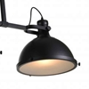 """Picture of 50"""" 3 Light Island Chandelier with Black finish"""
