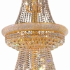 "Picture of 50"" 32 Light Down Chandelier with Gold finish"