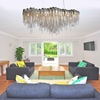"""Picture of 51"""" 10 Light Down Chandelier with Chrome finish"""