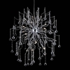 "Picture of 51"" 20 Light  Chandelier with Chrome finish"