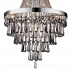 "Picture of 52"" 17 Light Down Chandelier with Chrome finish"