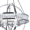 "Picture of 53"" 6 Light  Chandelier with Chrome finish"