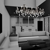 """Picture of 54"""" 14 Light Up Chandelier with Chrome finish"""
