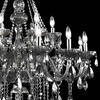 """Picture of 54"""" 18 Light Up Chandelier with Chrome finish"""