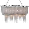 "Picture of 55"" 13 Light Down Chandelier with Chrome finish"