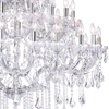 "Picture of 56"" 41 Light Up Chandelier with Chrome finish"