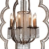 "Picture of 56"" 8 Light Up Chandelier with Champagne finish"