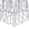 """Picture of 57"""" 34 Light Up Chandelier with Chrome finish"""