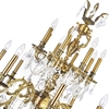 """Picture of 59"""" 24 Light Up Chandelier with French Gold finish"""