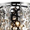 "Picture of 6"" 1 Light Bathroom Sconce with Chrome finish"