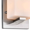 "Picture of 6"" 1 Light Bathroom Sconce with Satin Nickel finish"