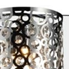 "Picture of 6"" 4 Light Vanity Light with Chrome finish"