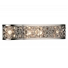 "Picture of 6"" 4 Light Wall Sconce with Satin Nickel finish"