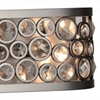 "Picture of 6"" 6 Light Wall Sconce with Satin Nickel finish"
