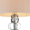 "Picture of 60"" 1 Light Floor Lamp with Chrome finish"