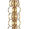 "Picture of 60"" 1 Light Floor Lamp with Gold finish"
