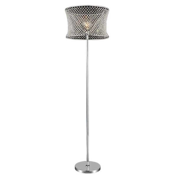 "Picture of 67"" 1 Light Floor Lamp with Chrome finish"
