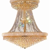 """Picture of 69"""" 38 Light Down Chandelier with Gold finish"""