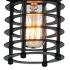 """Picture of 7"""" 1 Light Down Mini Pendant with Black finish"""