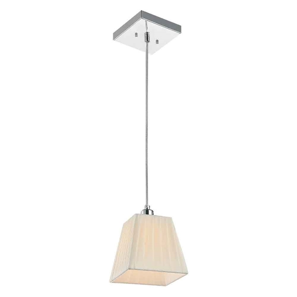 "Picture of 7"" 1 Light Down Mini Pendant with Chrome finish"