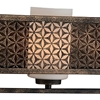 "Picture of 7"" 3 Light Wall Sconce with Golden Bronze finish"