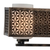 """Picture of 7"""" 3 Light Wall Sconce with Golden Bronze finish"""