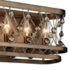 "Picture of 7"" 4 Light Wall Sconce with Speckled Bronze finish"