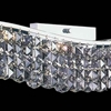 "Picture of 7"" 7 Light Vanity Light with Chrome finish"