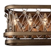 """Picture of 7"""" 8 Light Wall Sconce with Speckled Bronze finish"""