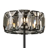 "Picture of 70"" 8 Light Floor Lamp with Black finish"