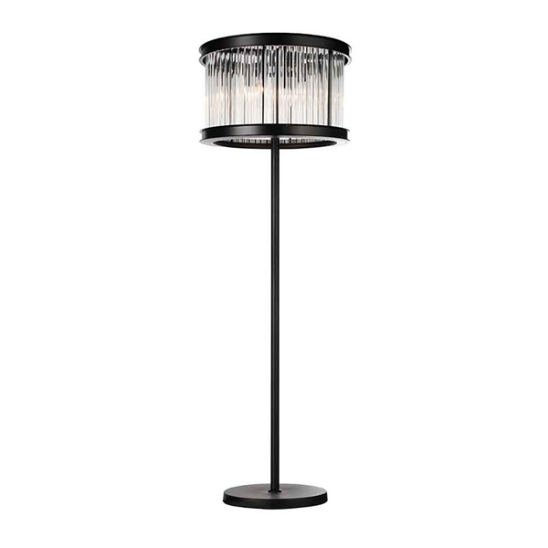 "Picture of 72"" 6 Light Floor Lamp with Black finish"