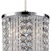"Picture of 8"" 1 Light  Mini Pendant with Chrome finish"